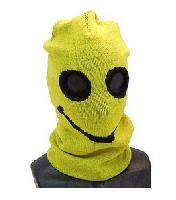 Adult Size Smiley Face Ski Mask