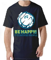 Be Happy Smile Face T-shirt