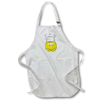 Cute Flower Smiley Face Apron