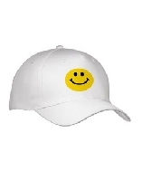 Cute Traditional Happy Smilie Cap