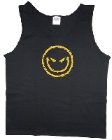 Evil Smiley Face Mens Tank Top