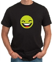 Happy Face Men T-Shirt