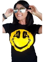 Happy Headphones Smiley Face T-Shirt