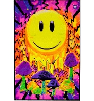 Have a Nice Trip Blacklight Poster