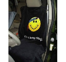 Jeep Smiley Face Seat Cover
