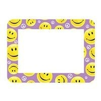 Kids Purple Smiley Picture Frame