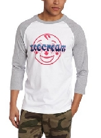Men's Smiley Cream Raglan T-Shirt