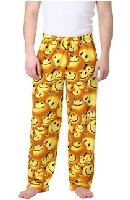 Men's Smiley Face Pajama Pants
