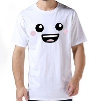 100% Organic Cotton Sweet Face T-shirt