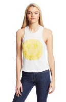 Women's Dede Oversized Smiley Tank
