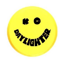 Round Yellow Plastic Light Cover
