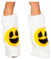 Sexy Smiley Face Legwarmers