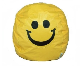 Smiley Face Kids Bean Bag Chair