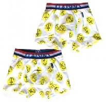 Smiley Boxers 2 Pack for Boys