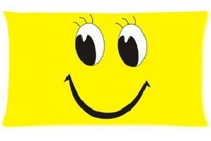 Smiley Face Bed Pillow Cases