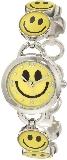 Smiley Face Novelty Analog Bracelet Watch