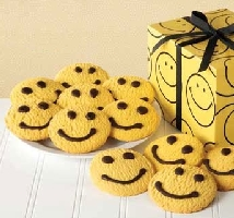 Smiley Face Butter Cookies Gift Box