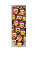 Smiley Face Christmas Holiday Tie
