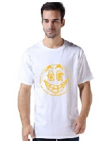 Smiley Face Cotton T Shirt