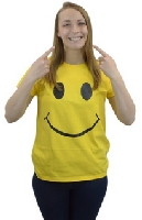 Smile Face Ladies' T-shirt