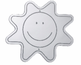 Smiley Face Kids Mirror