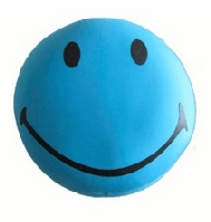 Smiley Face Pillow Round