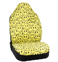 Smiley Face' Seat Cover