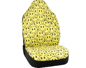 Smiley Face Seat Cover