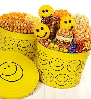 Smiley Face Snack Assortment