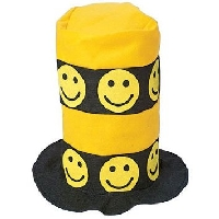 Smiley Face Stove Top Hat
