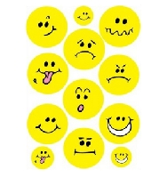 Smiley Face Wall Decor Stickers