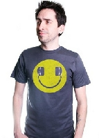 Smiley headphones T-shirt