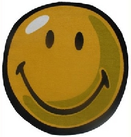 Smiley Round Area Rug