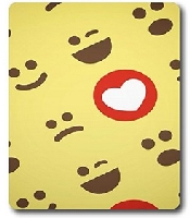 Smiling Faces Custom Mouse Pads