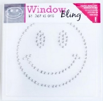 Window Bling Smiley Face